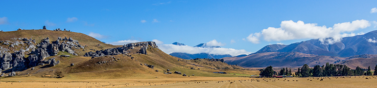 Castle Hill Conservation Area, South Island, New Zealand